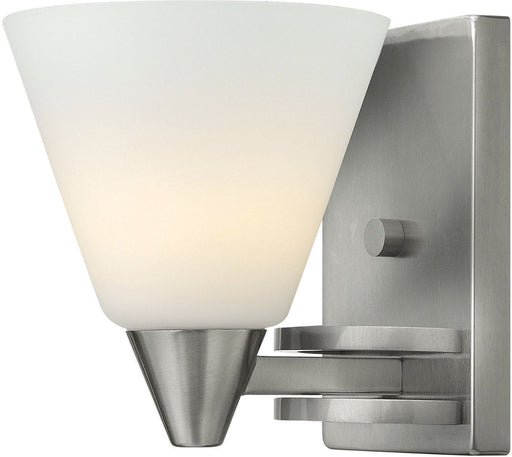 Hinkley Lighting 3660 BN Dillon Collection One Light Wall Sconce in Brushed Nickel Finish - Discount Lighting Fixtures