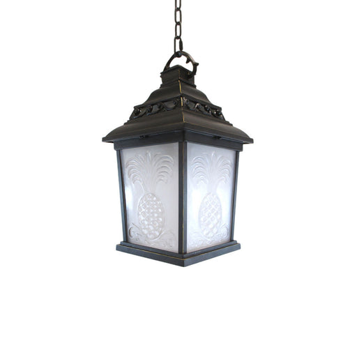 Kalco Lighting 9456TP One Light Outdoor Exterior Hanging Pendant Lantern in Tawny Port Finish - Quality Discount Lighting