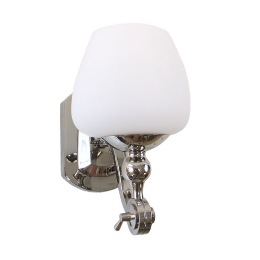 Kalco Lighting 8241 PN Monique Collection One Light Wall Sconce in Polished Nickel Finish - Quality Discount Lighting