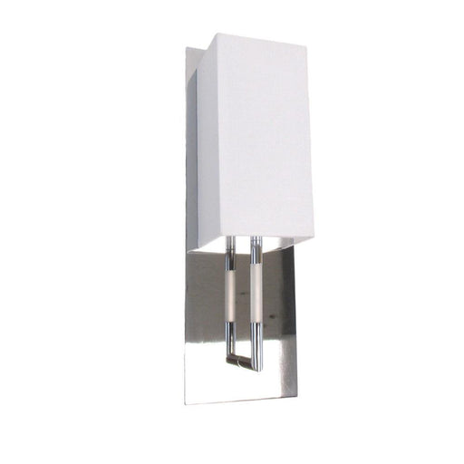 Oxygen Lighting 2-598-14 One Light Epoch Collection Fluorescent Wall Sconce in Polished Chrome Finish