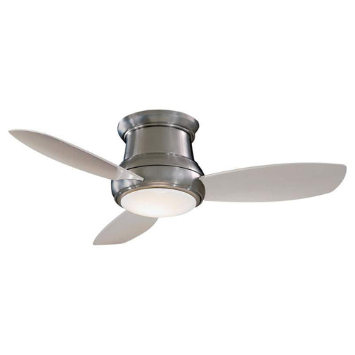 "Minka Aire SPECIAL ORDER F519 BN Concept II 52"" Ceiling Fan in Brushed Nickel Finish - Quality Discount Lighting"