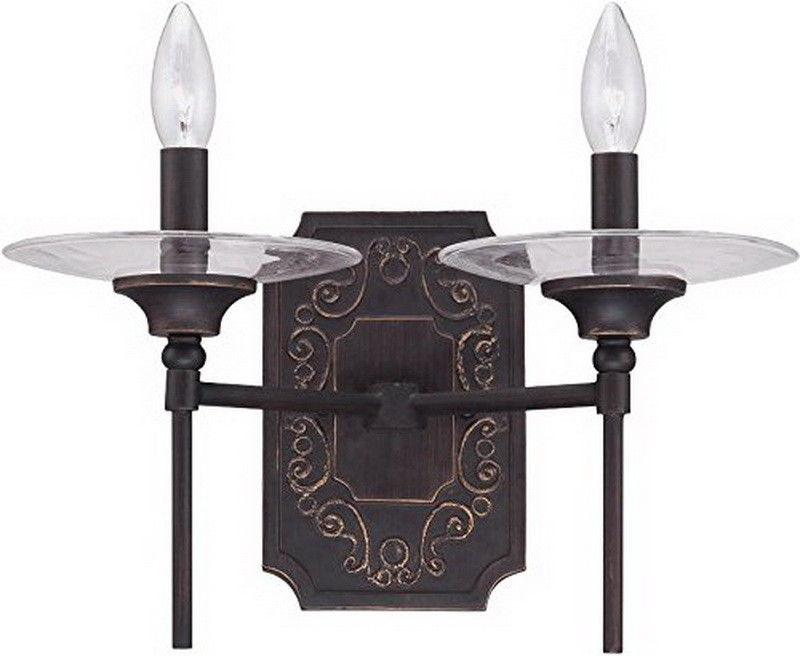 Craftmade Lighting 36362 Abzg Amsden Collection Two Light Wall Sconce Quality Discount Lighting
