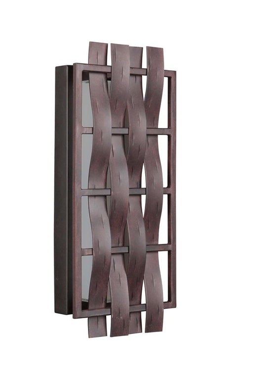 Craftmade Lighting 13616AG-LED Lakeshore Collection 16 Inch LED Wall Sconce in Aged Bronze Finish