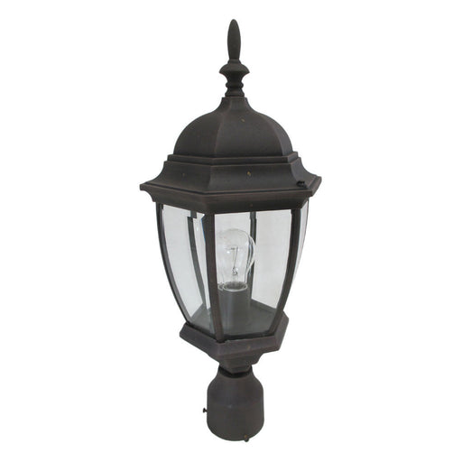 Designers Fountain Lighting 2436 AG One Light Outdoor Exterior Post Lantern in Autumn Gold Finish - Quality Discount Lighting