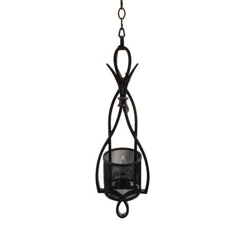 Kalco Lighting 6640TN One Light Up Mini Pendant in Tuscan Sunset Finish with Mesh Shades - Quality Discount Lighting