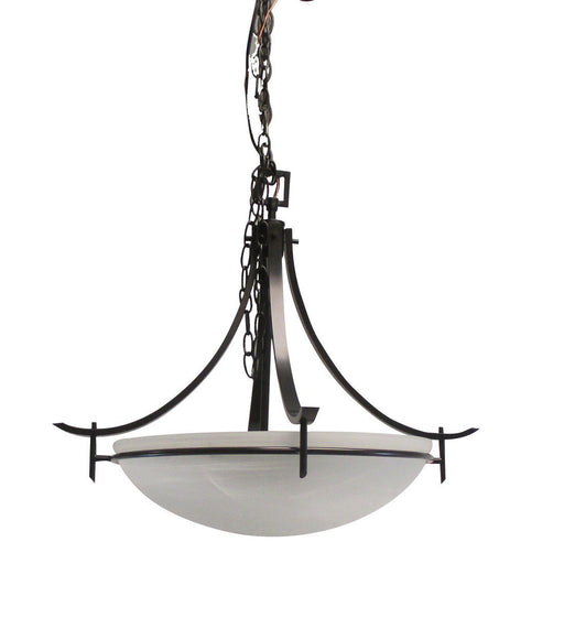 Rainbow EVER 2720 BLK Three Light Hanging Pendant Chandelier in Black Finish