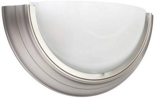 AFX PFSQ213BN Two Light Energy Efficient Fluorescent Wall Sconce in Brushed Nickel Finish