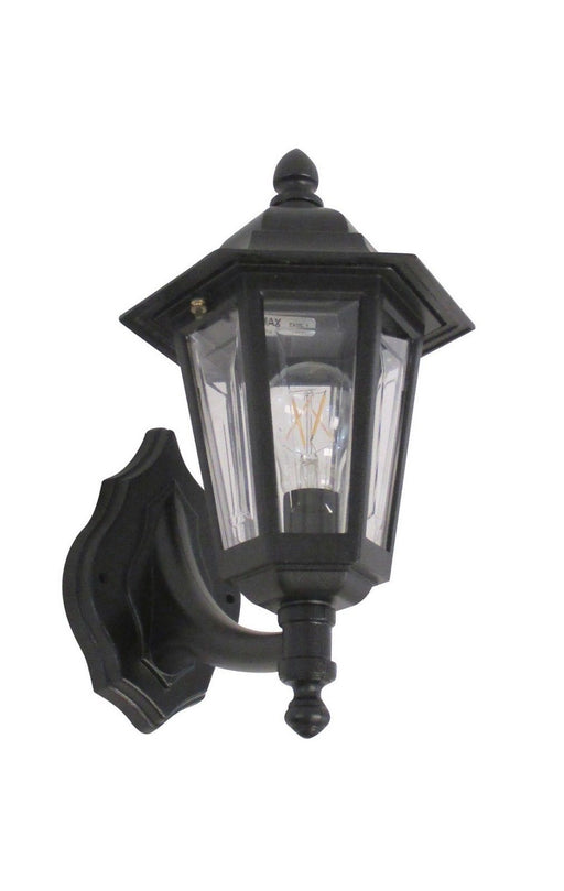 Adjustapost APX-C56SC-BK One Light Exterior Outdoor Wall Lantern in Black Finish