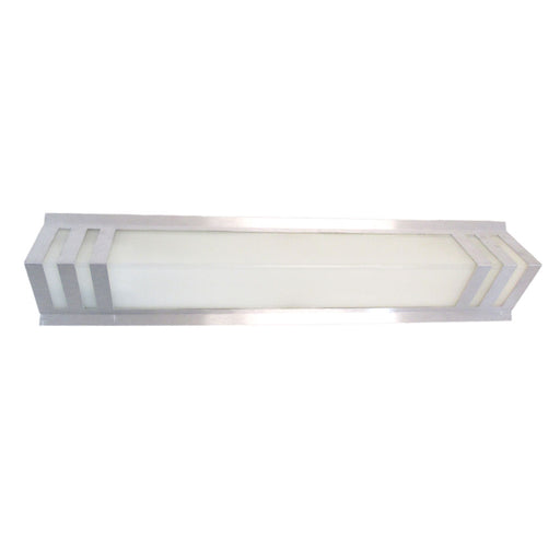 Epiphany Lighting ESWS376 BN One Light Energy Efficient Fluorescent Wall Sconce in Brushed Nickel Finish