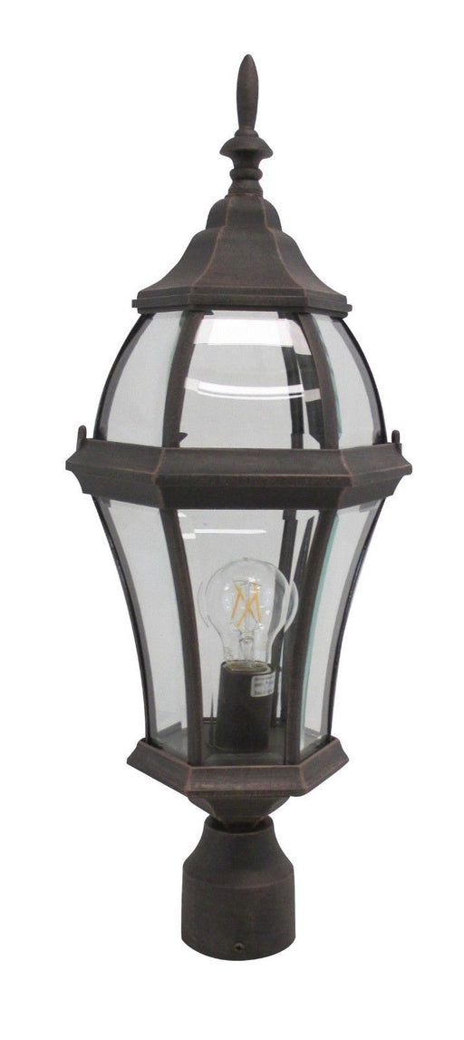 Rainbow ADJ APX-C46TC-RU One Light Exterior Outdoor Post Lantern in Rust Finish