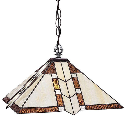 Z-Lite Lighting Z14-608-01 Prairie Garden Collection One Light Pendant Chandelier in Antique Brass Finish
