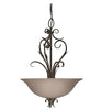 Kichler Lighting 44003 Three Light Hanging Pendant Chandelier in Olde Bronze Finish - Quality Discount Lighting
