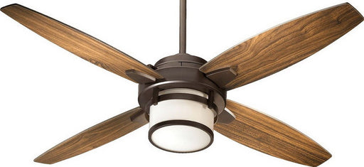 Quorum International 58524-86 Alta Collection Ceiling Fan in Oiled Bronze Finish - Quality Discount Lighting