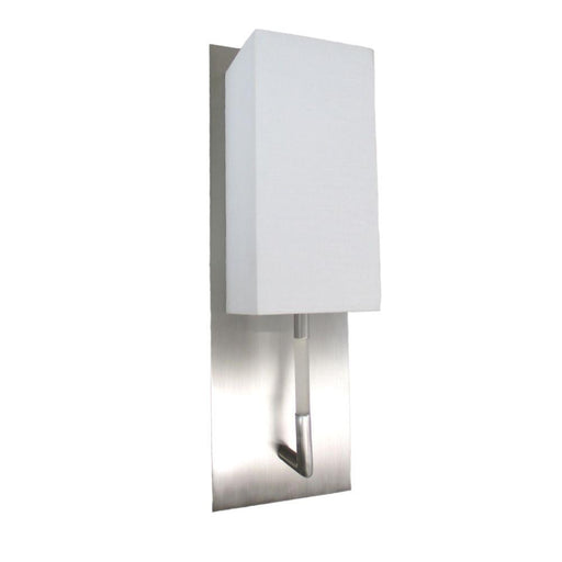 Oxygen Lighting 2-5128-24 One Light Epoch Collection Wall Sconce in Satin Nickel Finish - Quality Discount Lighting