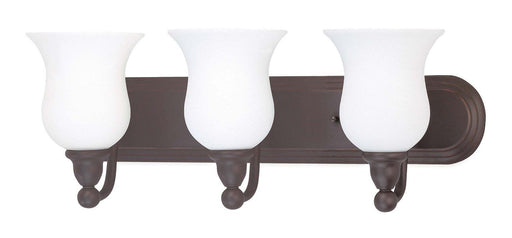 Nuvo Lighting 60-1794 Glenwood Collection Three Light Bath Vanity Wall Mount in Sudbury Bronze Finish - Quality Discount Lighting
