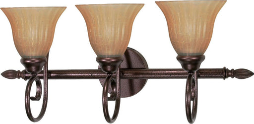 Nuvo Lighting 60-42413-LED Three Light LED Bath Wall Sconce in Copper Bronze Finish