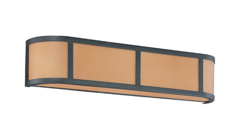 Nuvo Lighting 60-2874 Odeon Collection Three Light Bath Vanity Wall in Aged Bronze Finish - Quality Discount Lighting