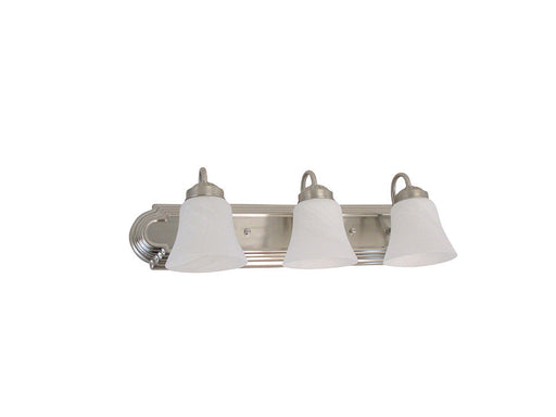 Rainbow EVER 1403BN-LED Three Light Dimmable LED Bath Vanity Wall Mount in Brushed Nickel Finish