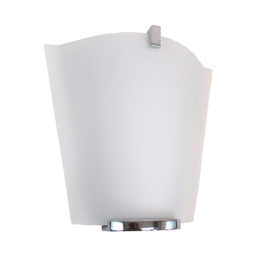 Oxygen Lighting 2-570-114 Haiku Collection One Light Energy Efficient Fluorescent Wall Sconce in Polished Chrome Finish