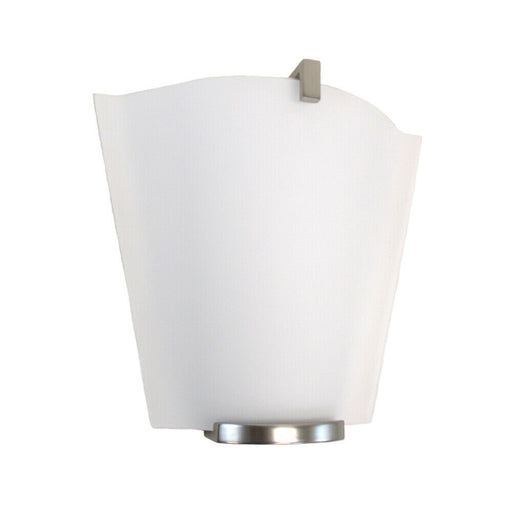 Oxygen Lighting 2-570-124 Haiku Collection One Light Energy Efficient Fluorescent Wall Sconce in Satin Nickel Finish