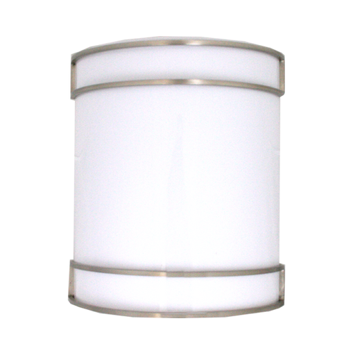 Sun and Stars Lighting 2008-GU123-SN One Light Energy Efficient GU24 Wall Sconce in Satin Nickel Finish