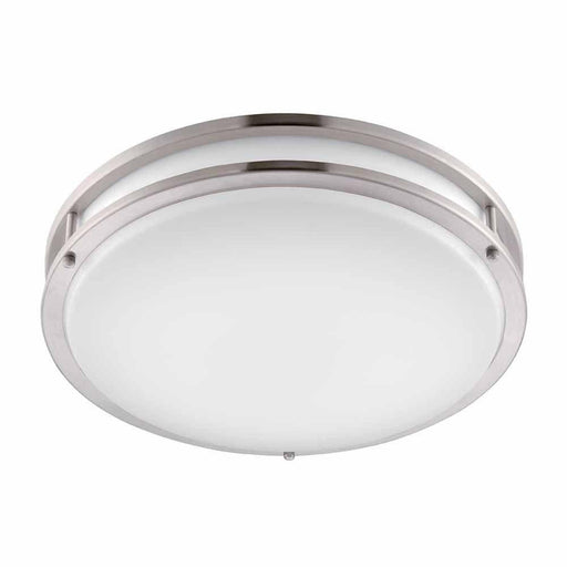 Rainbow EVER ES2638BN-12 Integrated LED Ceiling Light in Brushed Nickel Finish
