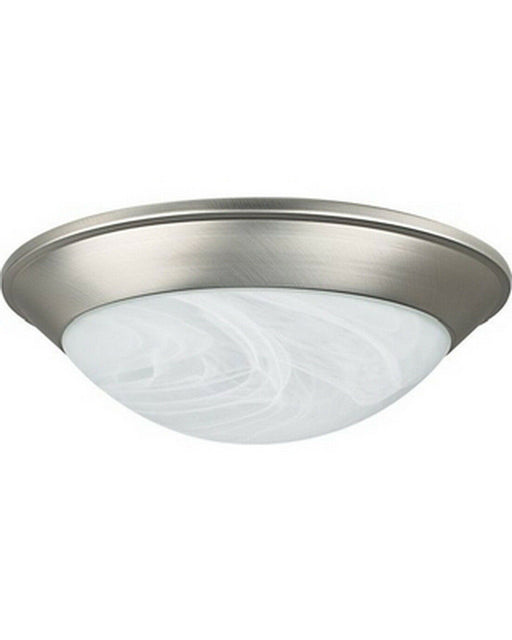 Rainbow EVER 2951 BN One Light Flush Ceiling Mount in Brushed Nickel Finish
