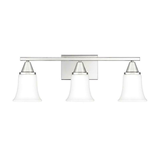 Quoizel Lighting ASH29907C Three Light Bath Bar in Polished Nickel Finish