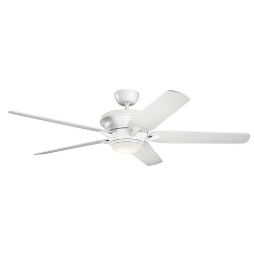 "Kichler Lighting 300025 MWH Pino Collection 60"" Ceiling Fan in Matte White Finish"
