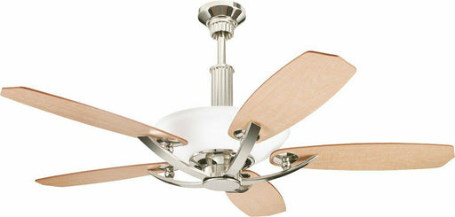 "Kichler Lighting 300126 PN Palla Collection 56"" Ceiling Fan in Polished Nickel Finish"