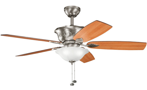 Kichler Lighting 300159 AP Tolkin Collection Ceiling Fan in Antique Pewter Finish - Quality Discount Lighting