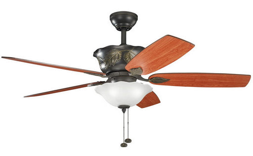 Kichler Lighting 300159 OZ Tolkin Collection Ceiling Fan in Olde Bronze Finish - Quality Discount Lighting