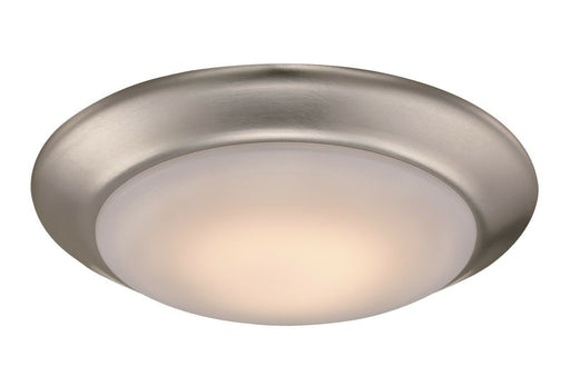 Trans Globe Lighting LED-30015BN Vanowen Collection LED Flush Ceiling Mount in Brushed Nickel Finish