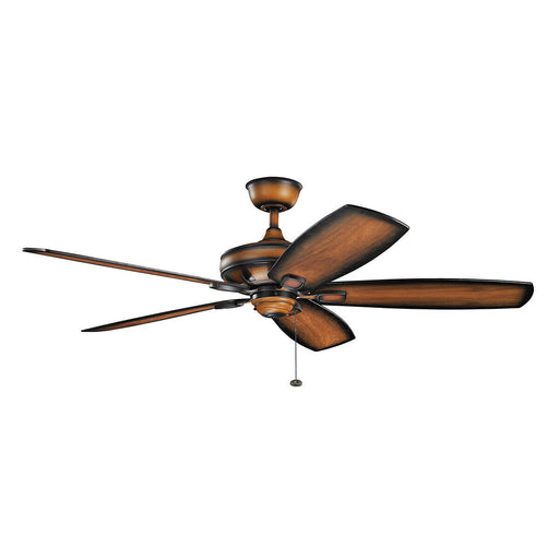 "Kichler Lighting 300269 MDW Ashbyrn Collection 60"" Ceiling Fan in Mediterranean Finish"