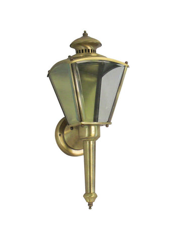 Rainbow EVER 3003 AB One Light Exterior Wall Lantern in Antique Brass Finish