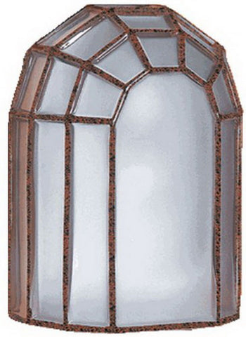 Besa Lighting 301699 One Light Exterior Outdoor Wall Lantern in Cobblestone Finish - Quality Discount Lighting