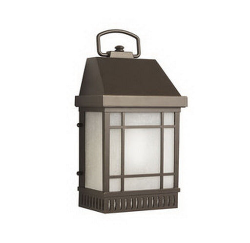Aluche by Kichler Lighting 431192-LED Biddeford Collection One Light Exterior Outdoor Wall Mount in Old Bronze Finish
