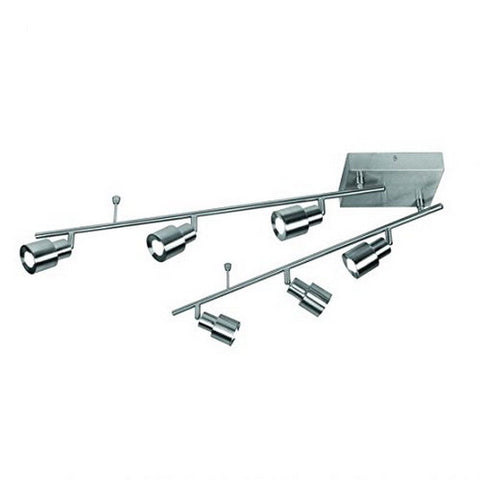 HDS 326632 Six Light LED Track Ceiling Mount in Satin Nickel Finish