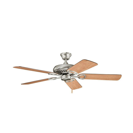 "Kichler Lighting 339011AP Sutter Place Collection 52"" Ceiling Fan in Antique Pewter Finish"