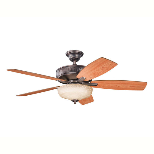 "Kichler Lighting 339213 OBB Monarch Collection 52"" Ceiling Fan in Oil Brushed Bronze Finish"