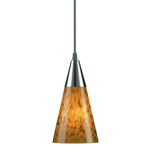 Aztec 34206 by Kichler Lighting One Light Hanging Mini Pendant in Brushed Nickel Finish