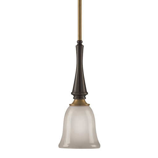 Aztec 34248 by Kichler Lighting One Light Hanging Mini Pendant in Royal Bronze Finish