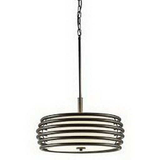 Kichler Lighting 34759 Three Light Pendant Fixture in Olde Bronze Finish