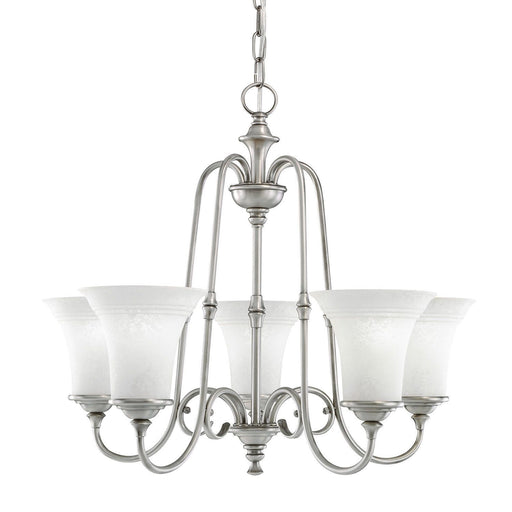 Aztec by Kichler Lighting 34921 Five Light Northampton Collection Hanging Chandelier in Antique Pewter Finish