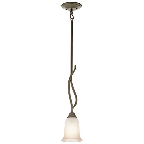 Aztec 34994 by Kichler Lighting One Light Hanging Mini Pendant in Shadow Bronze Finish