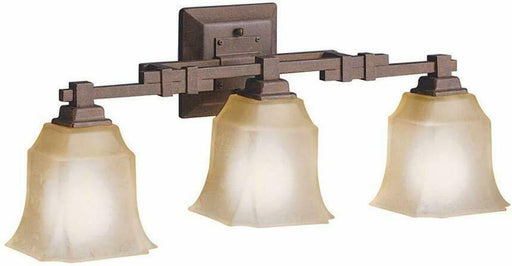 Aztec by Kichler Lighting 37908 Three Light Bath Vanity Wall Mount in Tannery Bronze Finish
