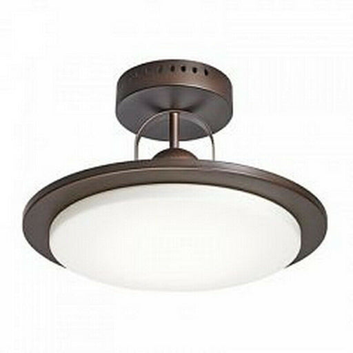 Kichler Lighting 38188 Integrated LED Semi Flush Ceiling Fixture in Oil Rubbed Bronze Finish