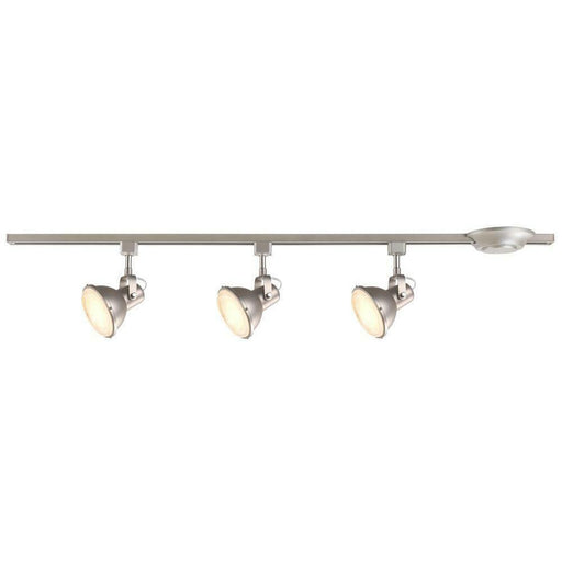 CE 38636 Three Light LED Restoration Directional Linear Ceiling or Wall Fixture in Brushed Steel Finish