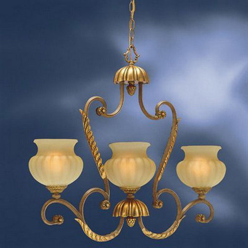 Kichler Lighting 3899 BRL Eminence Collection Three Light Hanging Island Pendant Chandeilier in Brulee Finish WAS $99.95 - Quality Discount Lighting