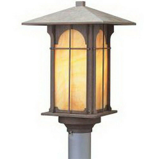 Aztec 39047 By Kichler Lighting One Light Outdoor Post Lantern in Bronze Finish